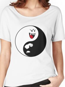 Boo/Bullet Bill Yin Yang Women's Relaxed Fit T-Shirt