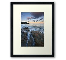Wye Framed Print