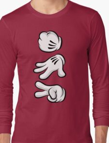 Roshambo Hands Long Sleeve T-Shirt