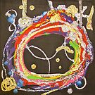 Universal Circle of All ! acrylic on8x8canvas by eoconnor