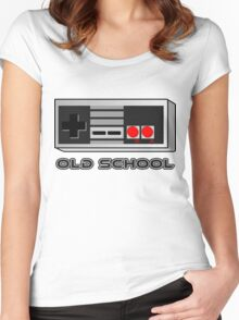 NES - Nintendo Entertainment System  Women's Fitted Scoop T-Shirt