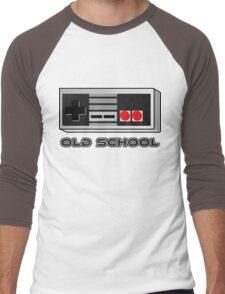 NES - Nintendo Entertainment System  Men's Baseball ¾ T-Shirt