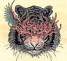 Masked Tiger by MatMiller