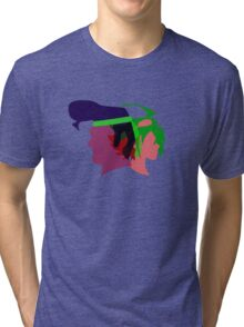 Arc V Ship Silhouette- Yuya/Gongenzaka Tri-blend T-Shirt