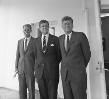 The Kennedy Brothers -- John, Robert, And Ted by warishellstore