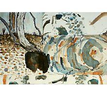 dry creek bed - Maranoa Photographic Print
