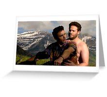 James Franco & Seth Rogen Greeting Card