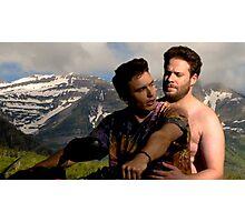 James Franco & Seth Rogen Photographic Print