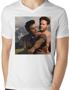 James Franco & Seth Rogen Mens V-Neck T-Shirt