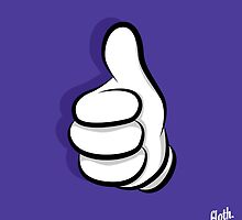 Thumbs Up Hand by FlothWest