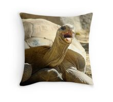 Smile!!! Throw Pillow