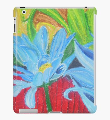flower on a fence iPad Case/Skin