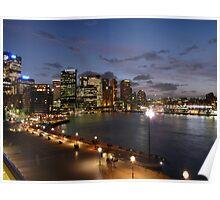 Sydney CBD - October 2009 Poster