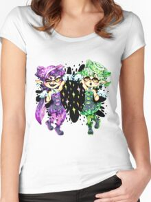 Callie and Marie No Text Women's Fitted Scoop T-Shirt