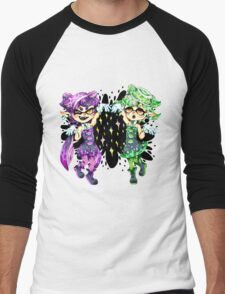 Callie and Marie No Text Men's Baseball ¾ T-Shirt