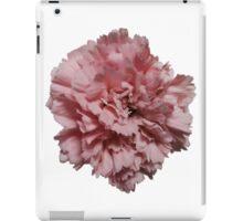 Single Pink Carnation iPad Case/Skin