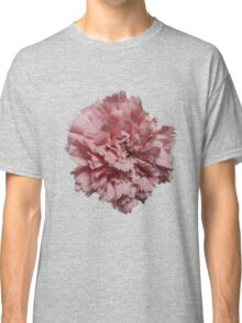 Single Pink Carnation - Hipster/Pretty/Trendy Flowers Classic T-Shirt