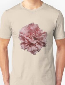 Single Pink Carnation - Hipster/Pretty/Trendy Flowers Unisex T-Shirt