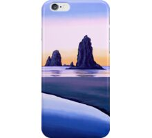 Earth Sunrise Painting iPhone Case/Skin
