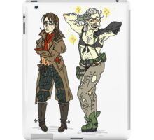 Ocelot and Quiet Clothes Swap iPad Case/Skin
