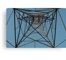 electrical tower Canvas Print