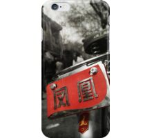 Xian bike iPhone Case/Skin
