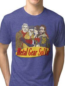 Metal Gear Solid Seinfeld Logo Tri-blend T-Shirt