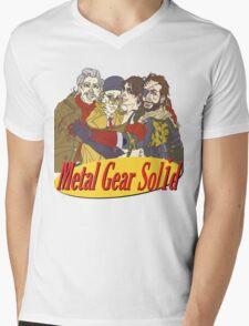Metal Gear Solid Seinfeld Logo Mens V-Neck T-Shirt