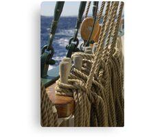 "Sailing: Schoner ""Sir Robert"" 2 - www.sir-robert.com Canvas Print"