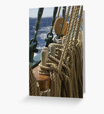 "Sailing: Schoner ""Sir Robert"" 2 - www.sir-robert.com Greeting Card"