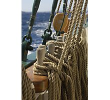 """Sailing: Schoner """"Sir Robert"""" 2 - www.sir-robert.com Photographic Print"""