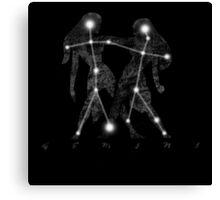 Gemini Constellation Sign  Canvas Print