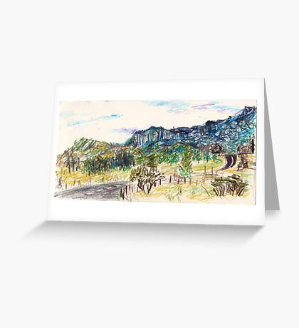 Out Past Penrose Greeting Card