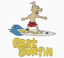 Goat surfin by ArtbyCowboy