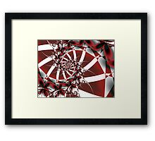 Red Petals Framed Print