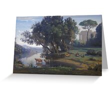 an incredible Italy landscape Greeting Card