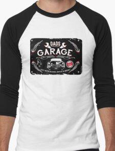 DADS GARAGE Men's Baseball ¾ T-Shirt