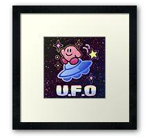 Kirby UFO Framed Print