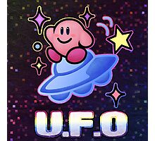 Kirby UFO Photographic Print
