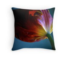 moody tulip  Throw Pillow