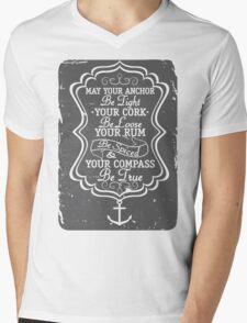 RUM Mens V-Neck T-Shirt