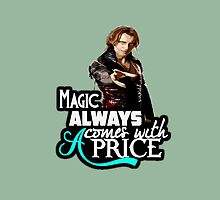 Magic always comes with a price by kurticide