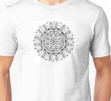 Vegetal mandala love Unisex T-Shirt
