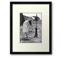 Martha- Railroad Signal Framed Print