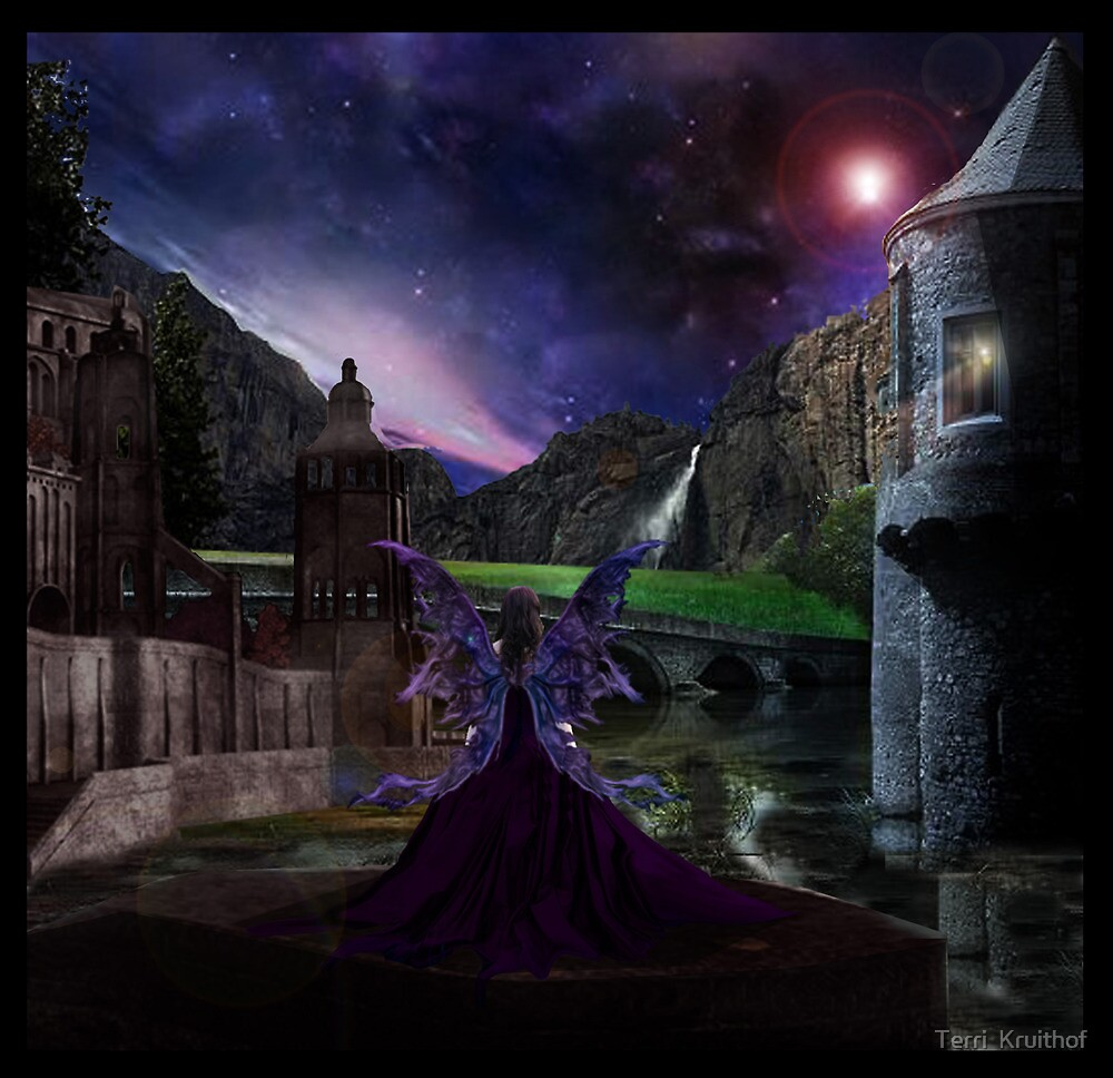 the lone queen of fairyland by Terri  Kruithof