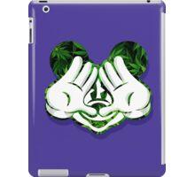 Mouse Kush Illuminati Head iPad Case/Skin