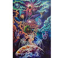 Shiva the cosmic destroyer Photographic Print