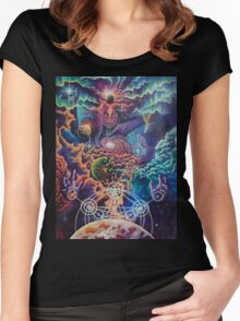 Shiva the cosmic destroyer Women's Fitted Scoop T-Shirt
