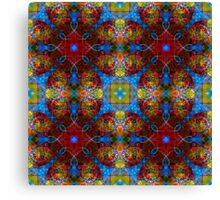 Stained Glass Buffet Canvas Print
