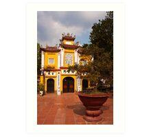Vietnam Temple Art Print